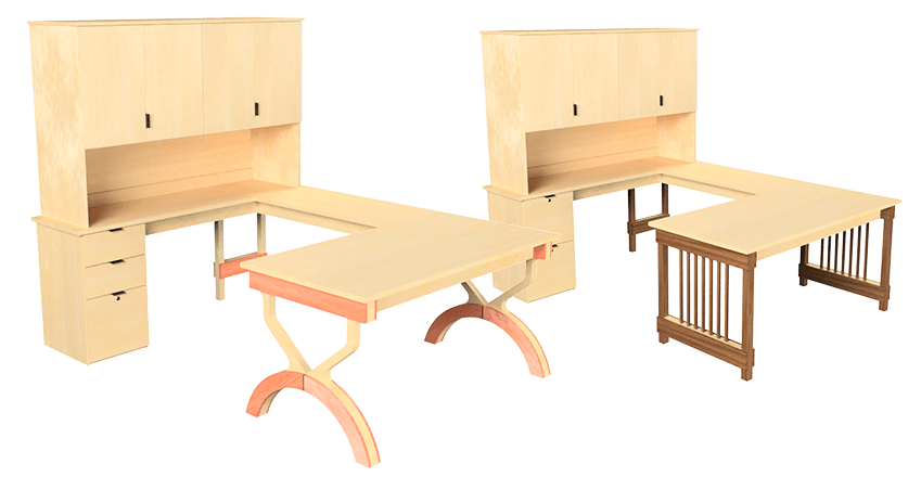 See our many desking options.
