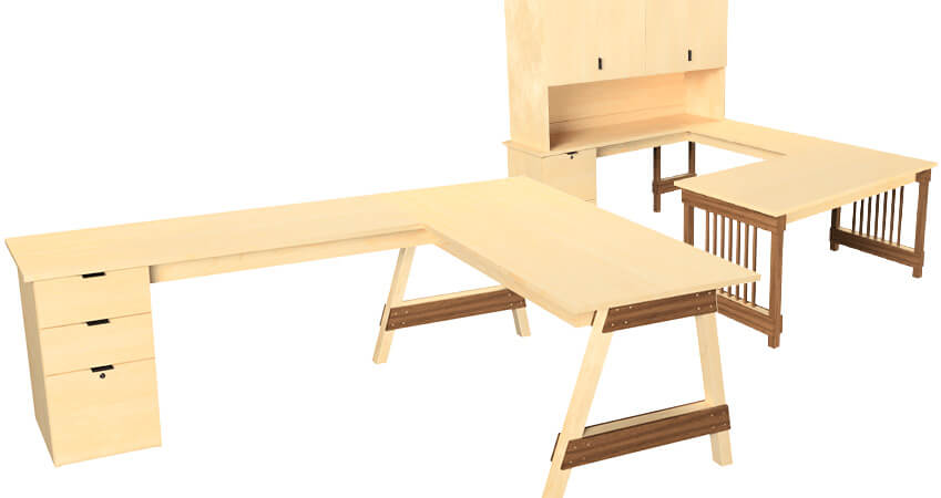 U-Desks and L-Desks