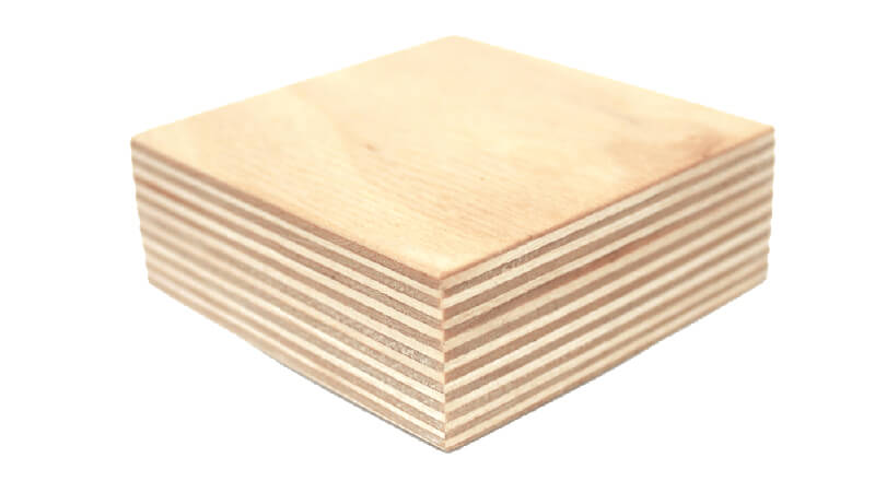 LimbCraft's base material is the super-stable, beautiful multi-ply Baltic Birch.